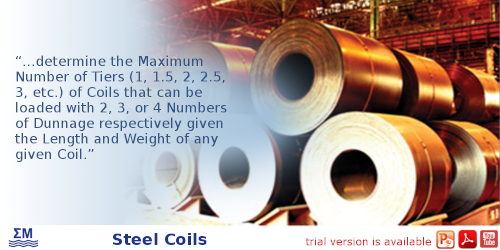 Steel Coils Loading