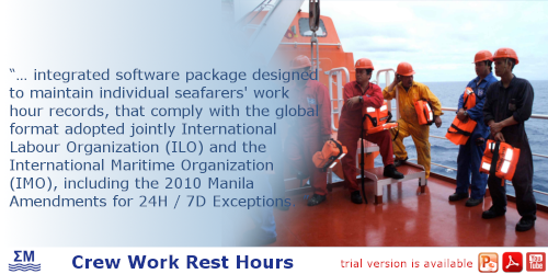 SMM Crew Rest Hours