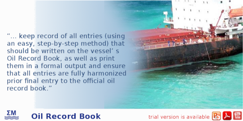 Oil Record Book Trainer